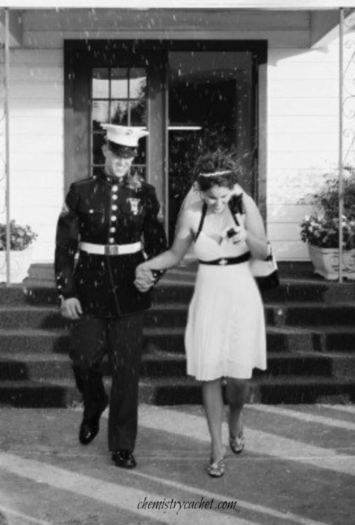 Marine Corps Wedding July 16, 2007 on chemistrycachet.com