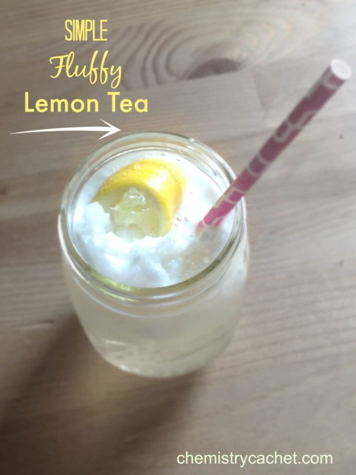 Simple Fluffy Lemon Tea that is so light and refreshing chemistrycachet.com