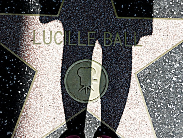 Lucille Ball Walk of Fame
