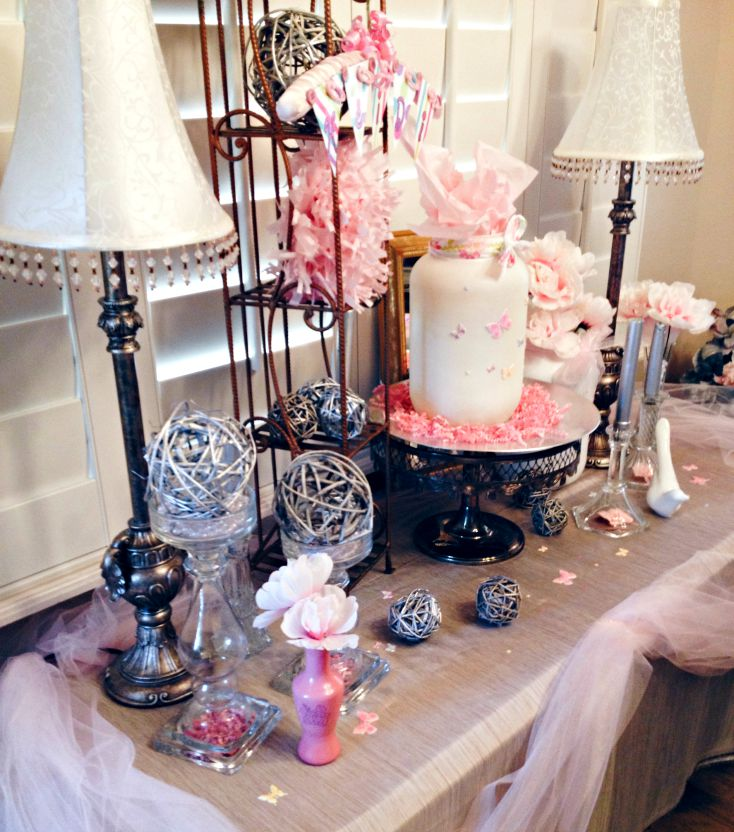 Sweet Pink Baby Shower Details
