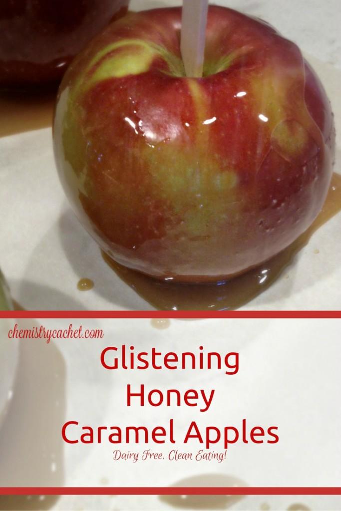 Glistening Honey Caramel Apples