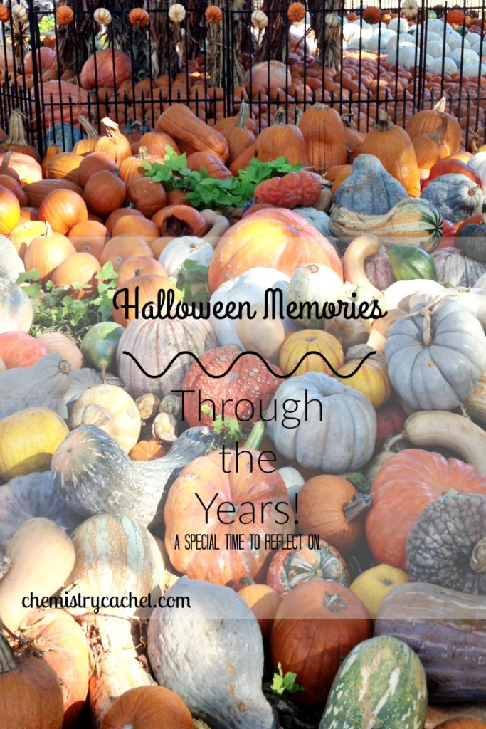 Halloween through the years is such a special time to reflect on! chemistrycachet.com