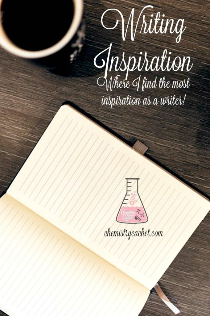 Writing Inspiration, where I find the most inspiration as an academic and creative writer