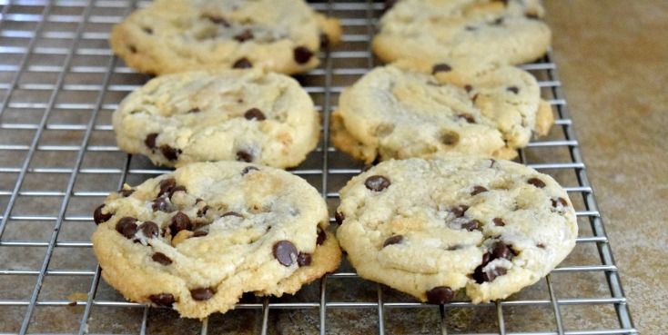 Dairy-free Chocolate Chip Coconut Oil Cookies
