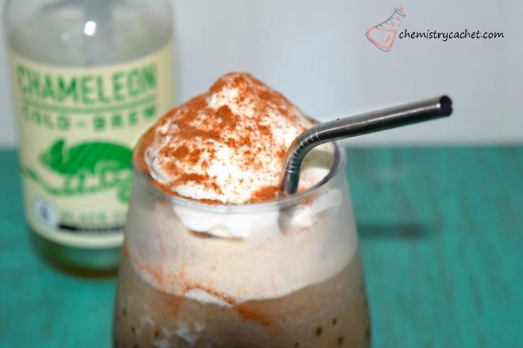 Cinnamon Hazelnut Frozen Cold Brew Coffee