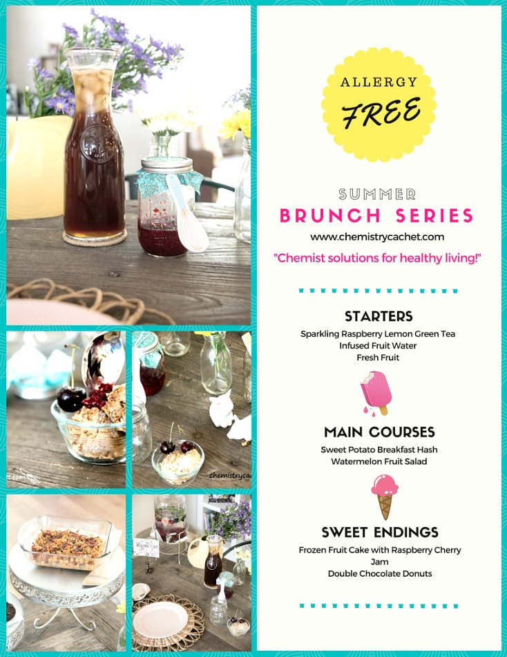 Elements for the Perfect Summer Brunch Plus Free Menu