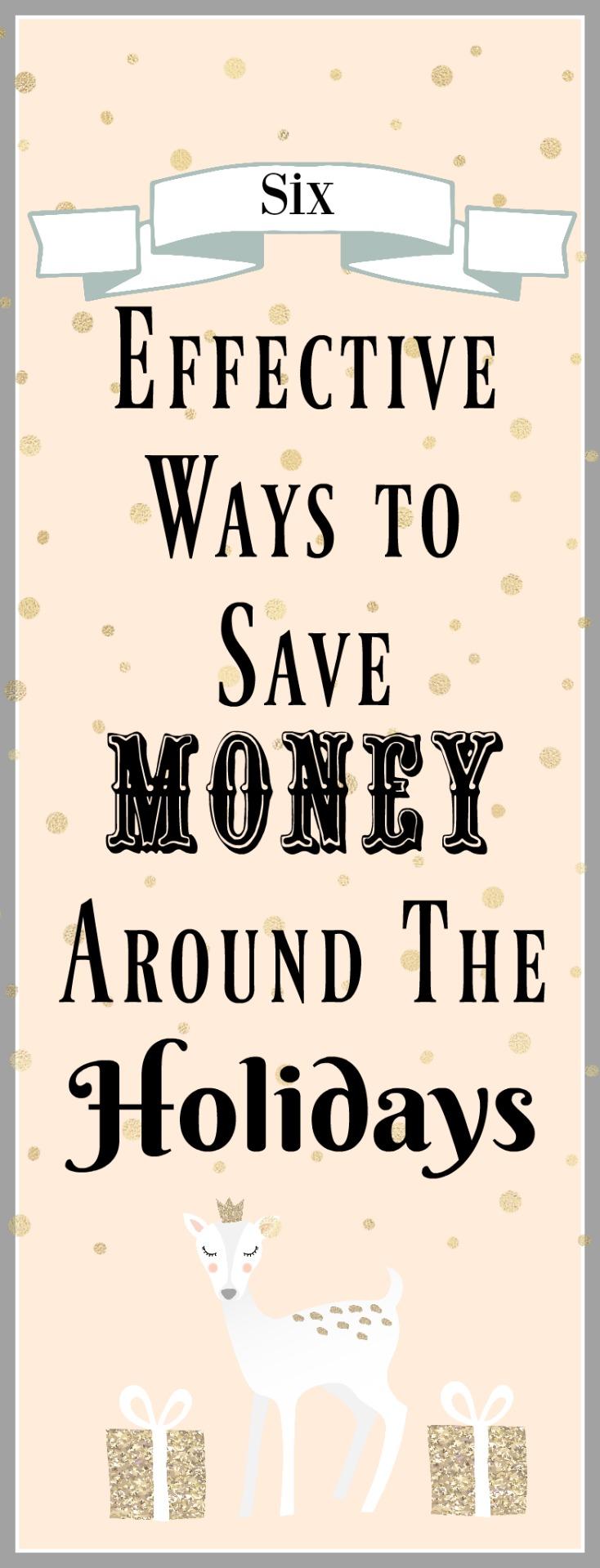 6 effective ways to save money around the holidays on chemistrycachet.com
