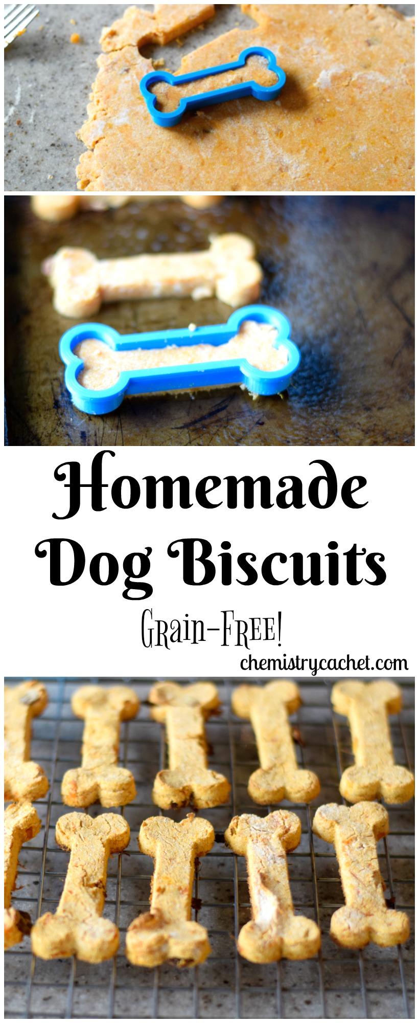 Homemade Natural Grain Free Dog Treats