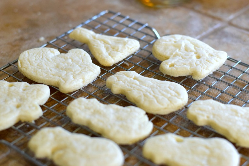Foolproof Dairy-Free Sugar Cookies, no weird ingredients either. Dairy-free sugar cookie recipe on chemistrycachet.com