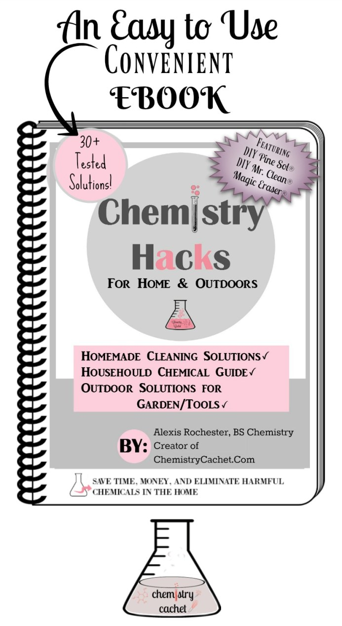 The book chemistry cachet the book chemistry hacks for home and outdoors fandeluxe Choice Image