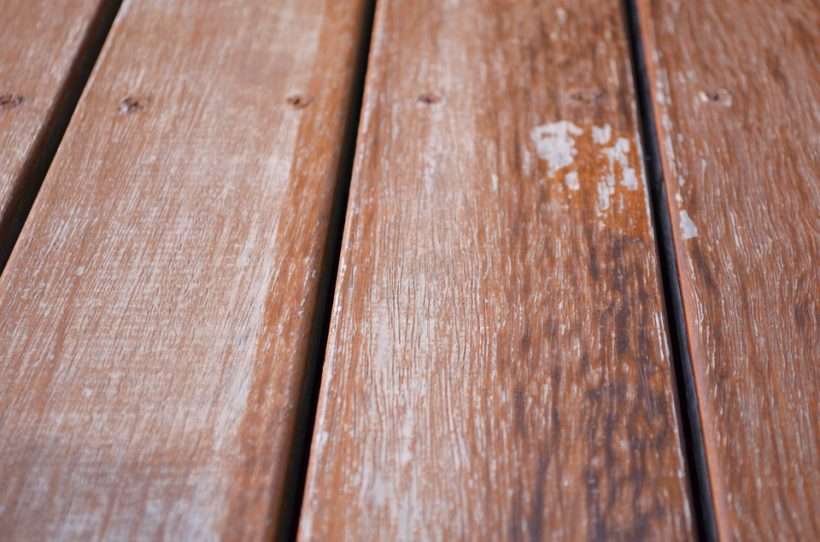 Tips on maintaining timber decking