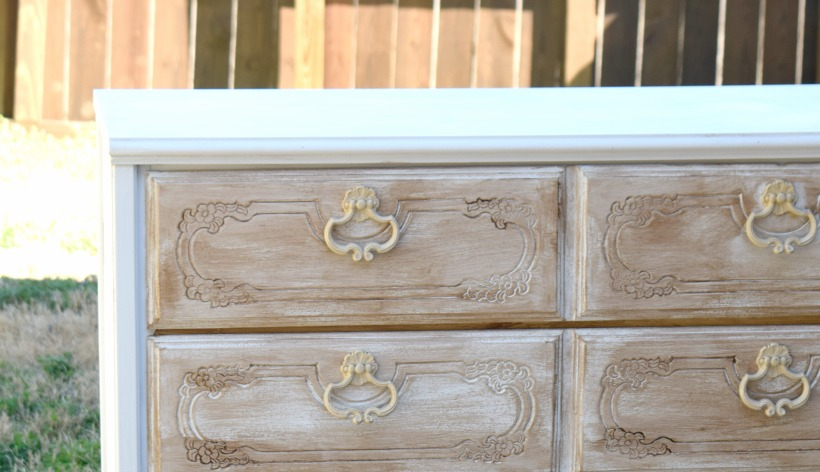 Super quick easy dresser makeover for $11