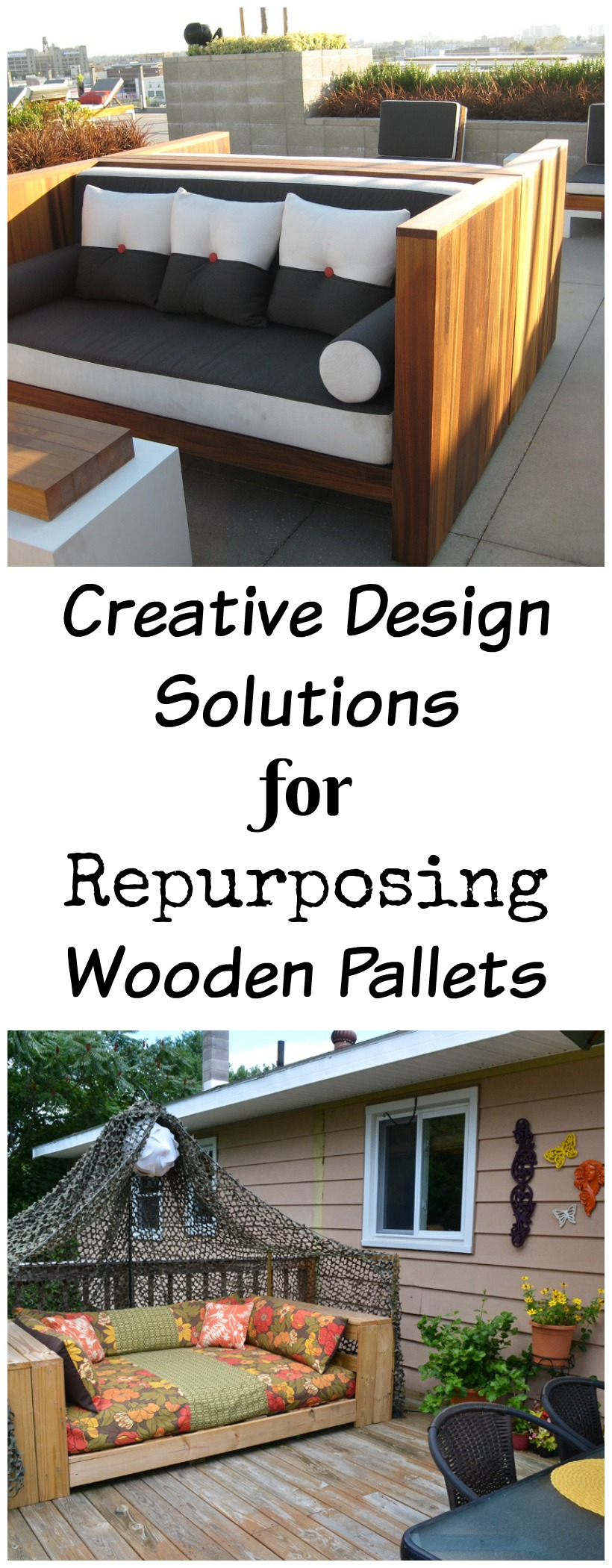 Creative Design Solutions for Repurposing Wooden Pallets chemistrycachet.com