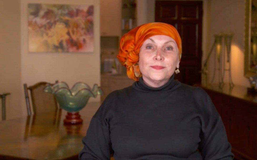 "Instruction Video for ""The Flower"" Scarf Head Wrap"