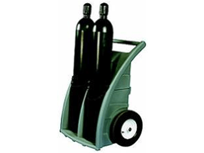 Single / Dual Cylinder Dolly | Gas cylinder troll