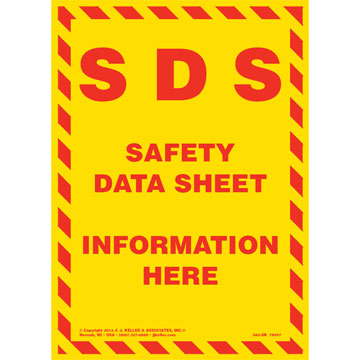 Safety data sheets | chemical storage