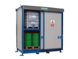 Chemstore 16DSD Bunded drum storage