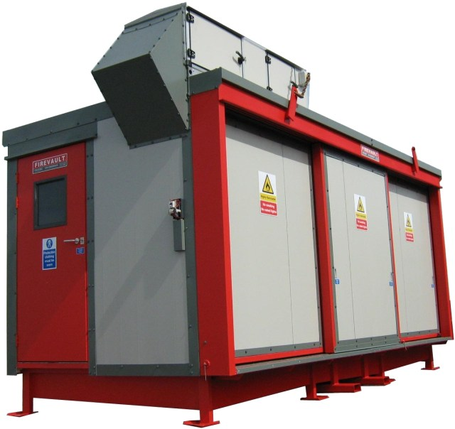 Firevault used for dispensing of flammable liquids in a cleanroom environment