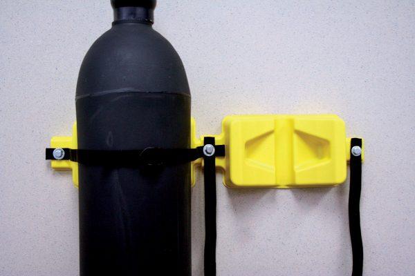 Cylinder Wall Racks Poly SPL8128