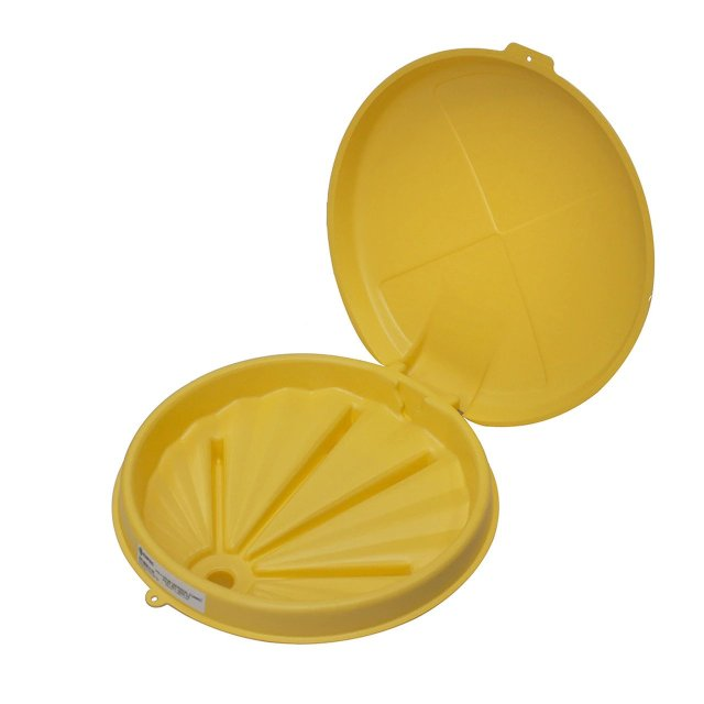 Poly Drum Funnel 3004 Yellow 3040