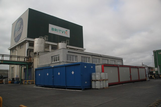 Corvault Britvic Facility 32 Pallet