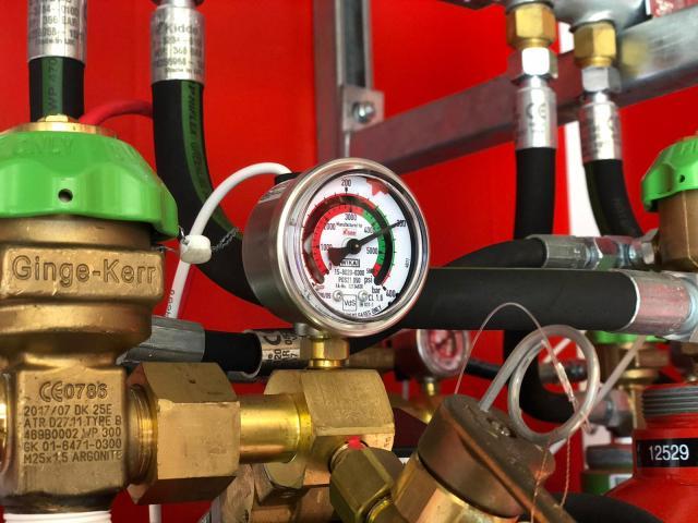 Firevault Pressure Gauge
