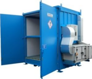 storage container for peroxide storage