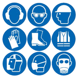 PPE Personal Protective Equipment Symbols