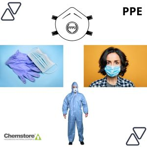 Image Depicting PPE Supplied by Chemstore