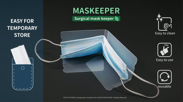 Maskeeper – Mask Storage Device