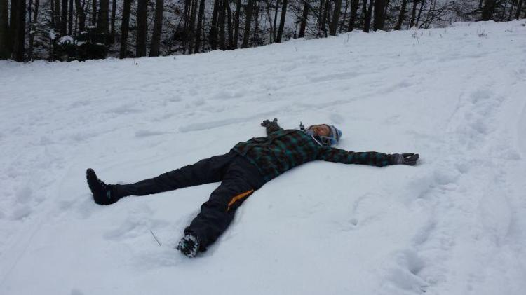 Relax v snegu