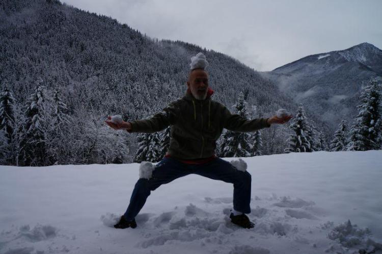 Shaolin v snegu