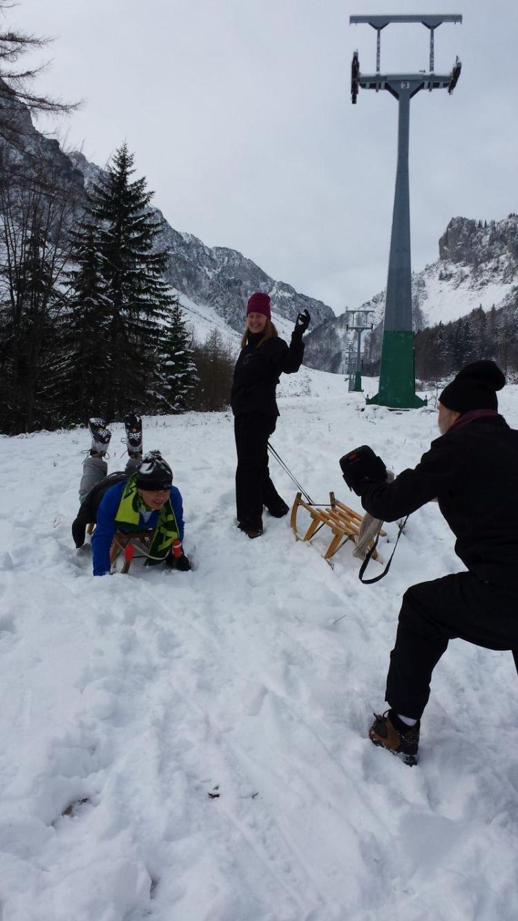 Vragolije v snegu I