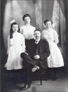 The Bassett family circa 1907