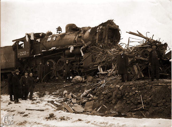 1916 Train collision
