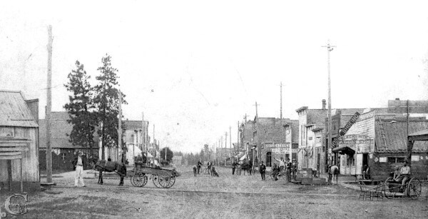 View of 1st Street 1894