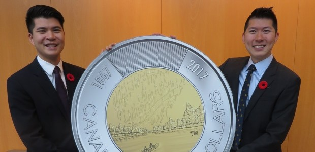 Richmond brothers win 'toonie' design contest for Canada's 150th anniversary