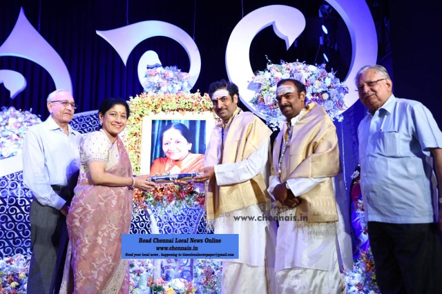 The Malladi Brothers awarded The Indira Sivasailam Endowment Medal 2015