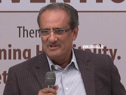 K. Syama Raju, re-elected President of SIHRA