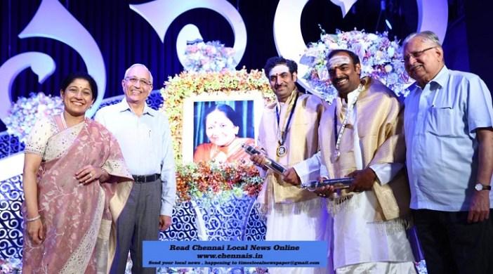 Indira Sivasailam Endowment Medal 2015
