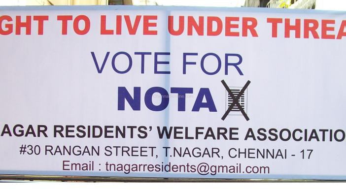 NOTA NOne Of The Above