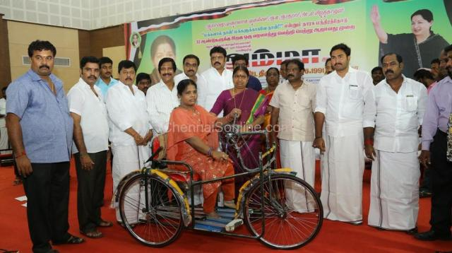 Distributed 6 types of Welfare Schemes
