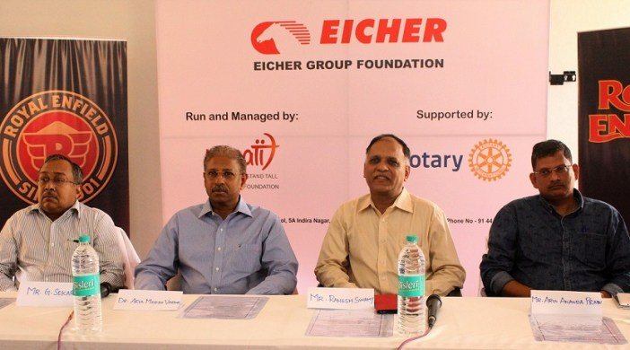 Eicher, SGBS Unnati Foundation and Rotary join hands for 'Skilled India'