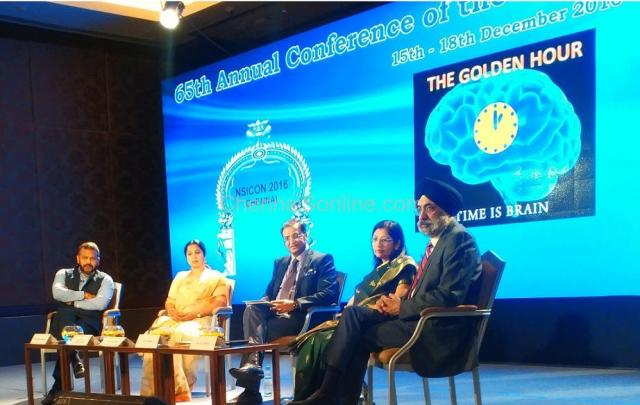 "Importance of ""Golden Hour"" discussed at the  65th Annual Conference of ""Neurological Society of India"""