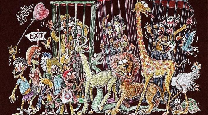 Exhibition-Animal-Cartoons-ZOOLOGICAL-GARDEN