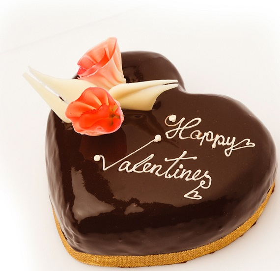 Valentines cake Chocolate
