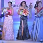 Presenting our winners - First runner up Bhavana Sreepad, Santoor Femina Style Diva South 2017 Ashna Gurav, Second runner up Anookya Harish
