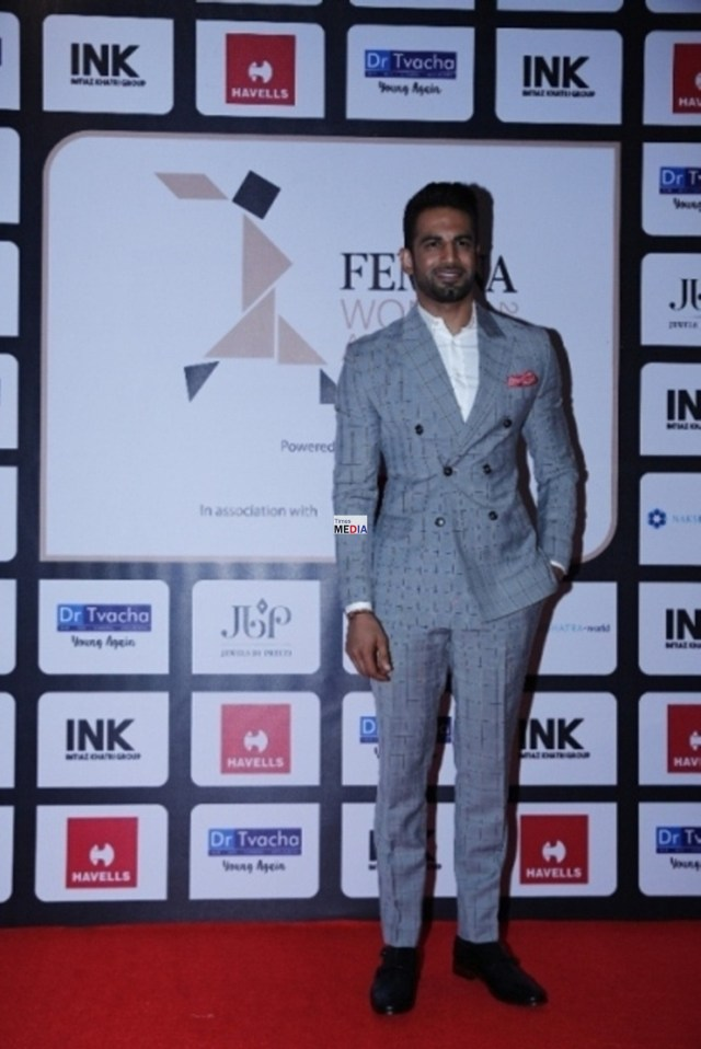 Upen Patel at Femina Women's Award 2017