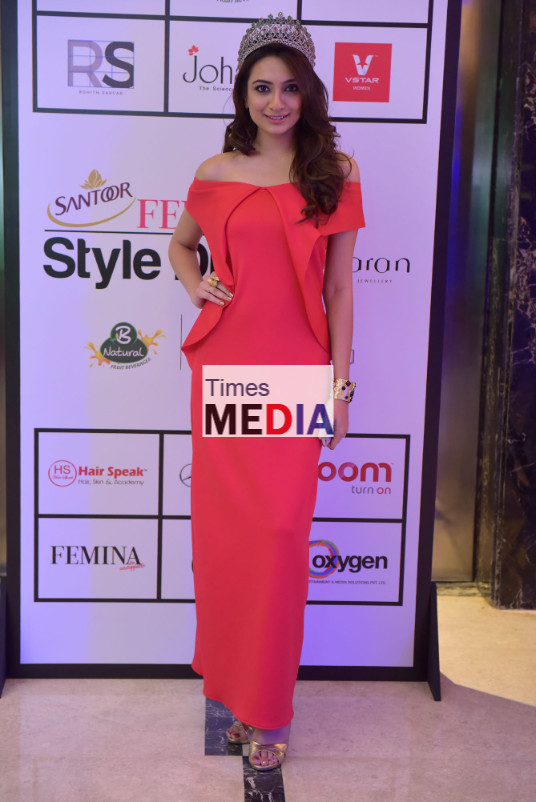 Yamaha Fascino Miss Diva - Miss Universe India 2016 Roshmitha Harimurthy dazzles at the Santoor Femina Style Diva South at the Movenpick Hotel in Bengaluru