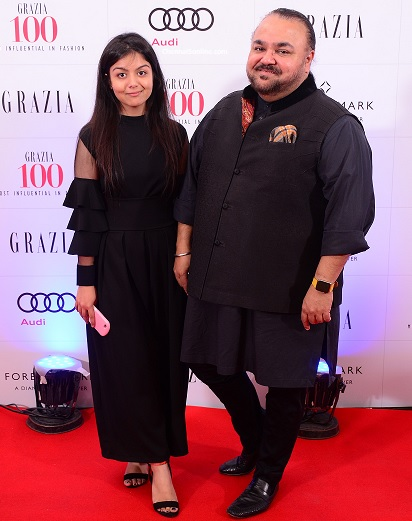 Fashion Designer JJ Valaya at Grazia 100 Most Influential in Fashion Party